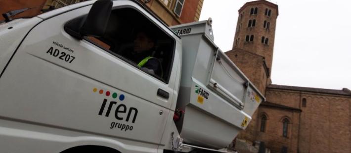 Camioncino Iren - Bilancio di Sostenibilità 2019
